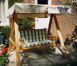 3 Seat Swing with Canopy- Garden Oasis-Outdoor Living-Patio